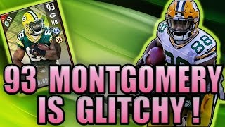 WE GOT 93 OVR MONTGOMERY! HES STILL GLITCHY! (80K WAGER) - MADDEN NFL 17 ULTIMATE TEAM