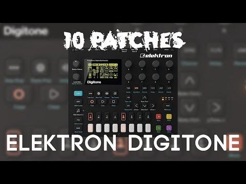 10 Patches on the Elektron Digitone (no talking)