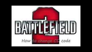 How to change Battlefield 2 CD key without REGEDIT or Uninstalling the GAME!!!