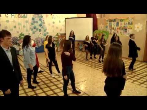 НОВОГОДНИЙ ФЛЕШМОБ 11 класса 2016