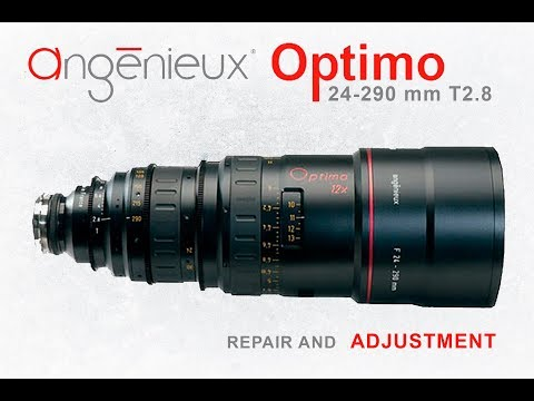 Angenieux Optimo Zoom 24-290мм repair and service