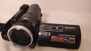 sony HDR XR550