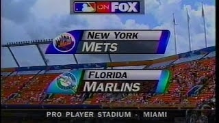MLB on FOX - 1997 Mets vs Marlins - open