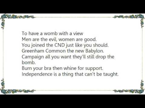 G.B.H. - Womb With a View Lyrics