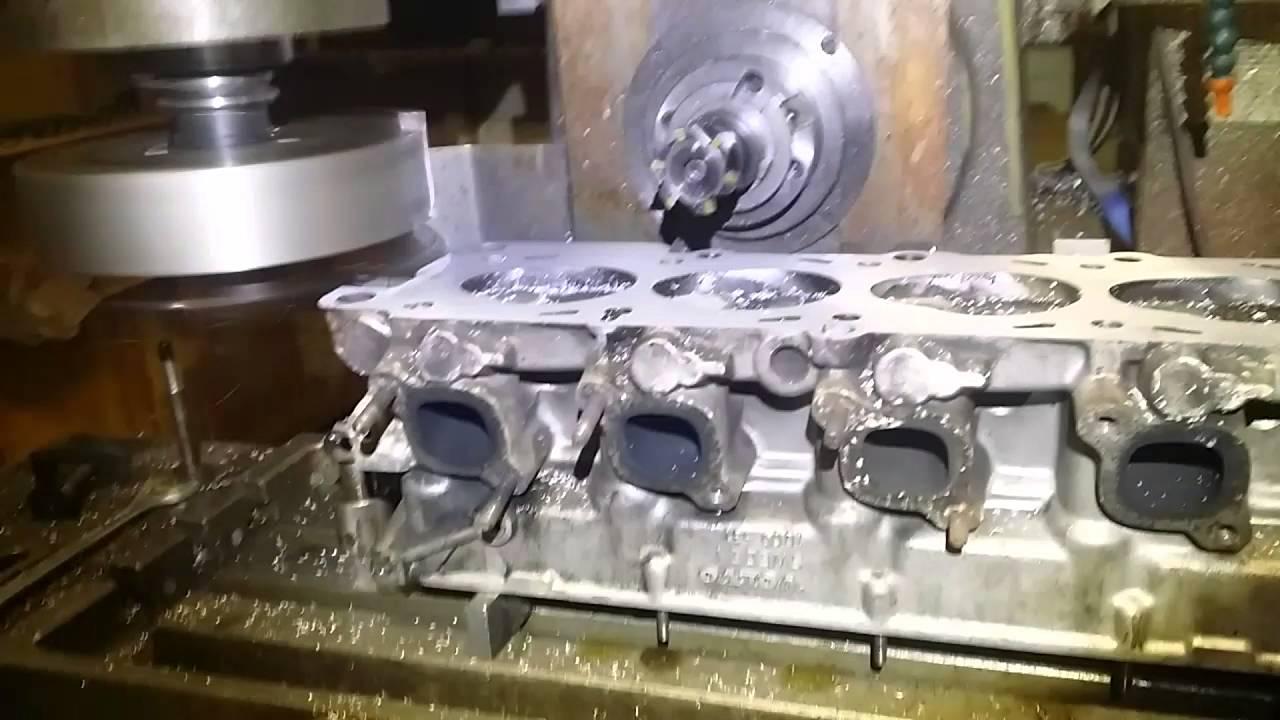 Volvo cylinder head resurfacing