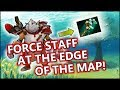 Dota 2 Tricks: Force Staff at the edge of the map!