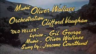 Old Yeller (1957 ) - Opening Song - High Quality
