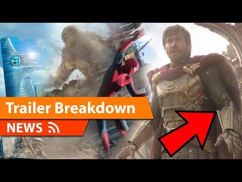SPIDER-MAN FAR FROM HOME - Official Trailer BREAKDOWN