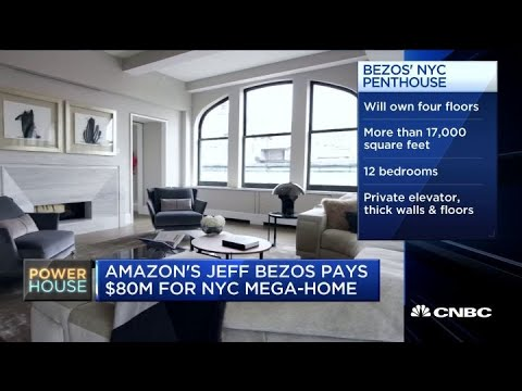 An Inside Look At Jeff Bezos New 80 Million Nyc Luxury Apartment