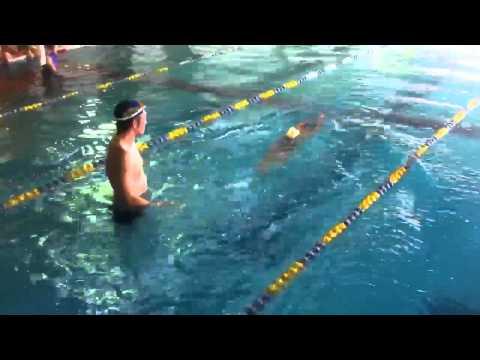 ながでんスイミングスクール須坂 飛び込み練習 水泳 須坂市