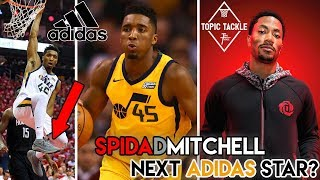 How Donovan Mitchell Could be the D'Rose that Adidas Never Had