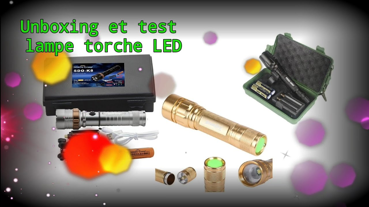 Torche Test Et Amazon Unboxing Lampe Led I7vf6mbyYg