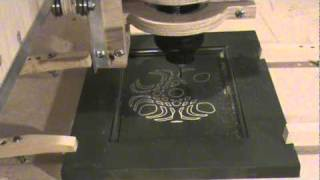 Blackfoot Diy Cnc Router Engraving A Cabinet Door With Celtic Design