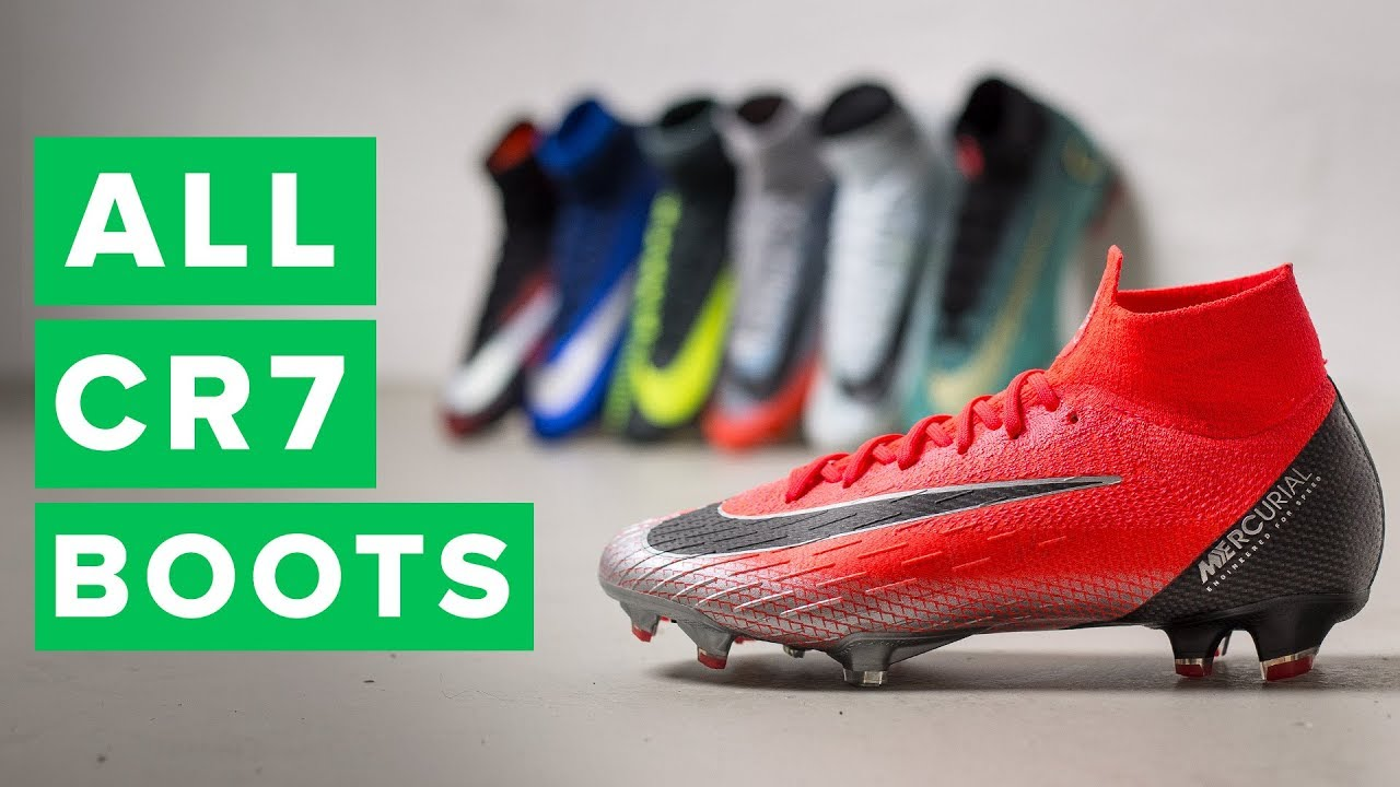 87f1c611f36 ALL CR7 CHAPTER BOOTS | New Chapter 7 football boots for Ronaldo