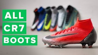 ALL CR7 CHAPTER BOOTS | New Chapter 7 football boots for Ronaldo