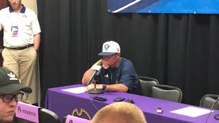 June 3 NCAA Regional postgame Mark Scalf