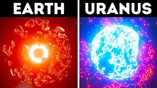 What You'd See If You Exploded Different Planets