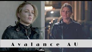 Runaway Baby AvaLance AU or when Sara Lance met Jos Carver