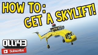 How to: Get a Skylift Helicopter in GTA Online! (GTA 5 Online Glitch Guide)