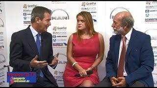 José Luis Aymat entrevistado por Javier Baranda en el XVI Congreso de Transporte la CETM