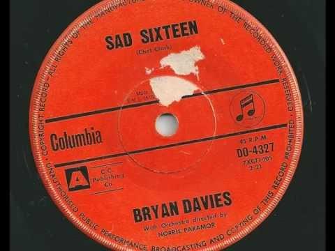 Bryan Davies - Sad Sixteen - 1961 - Columbia DO-4327