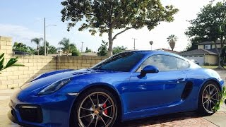 homepage tile video photo for Porsche Cayman GTS
