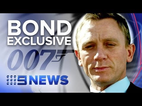 Exclusive interview with 007 Daniel Craig in Jamaica | Nine News Australia