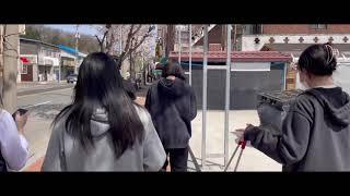 고등학교 봉사활동 벚꽃 vlog