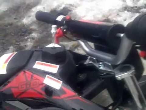 50cc Giovanni Gio Dirt Bike Pit Bike Walk Around 49cc 2 Stroke