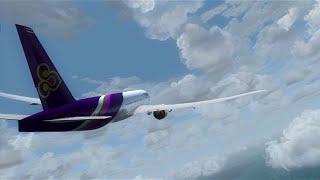 FSX Movie | Thai Air 777