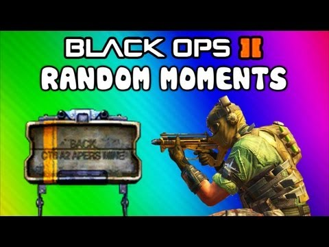 Thumbnail: Black Ops 2 Funny Moments - POO Map, Trolling Delirious, Rage Reactions, Flak Jacket! (Funtage)