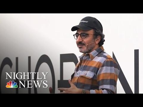 Chobani CEO Giving Employees an Ownership Stake in Yogurt Empire | NBC Nightly News