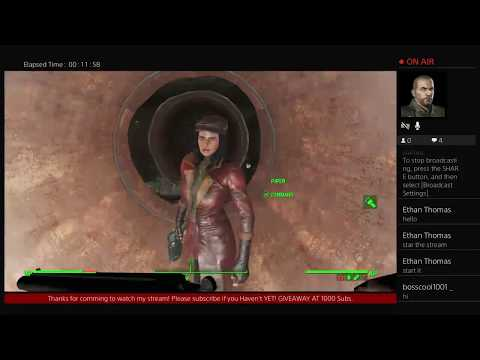 Gurk's Live Broadcasting Fallout 4: FROST MOD ON PS4? #13 Lets go SCAVING!!!