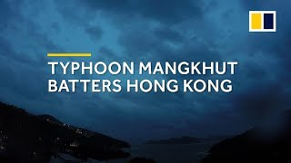 Time-lapse: Typhoon Mangkhut rolls into Hong Kong