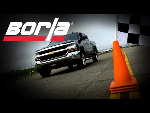 Borla Exhaust for the 2014-2018/2019 LD Chevrolet Silverado 5.3L