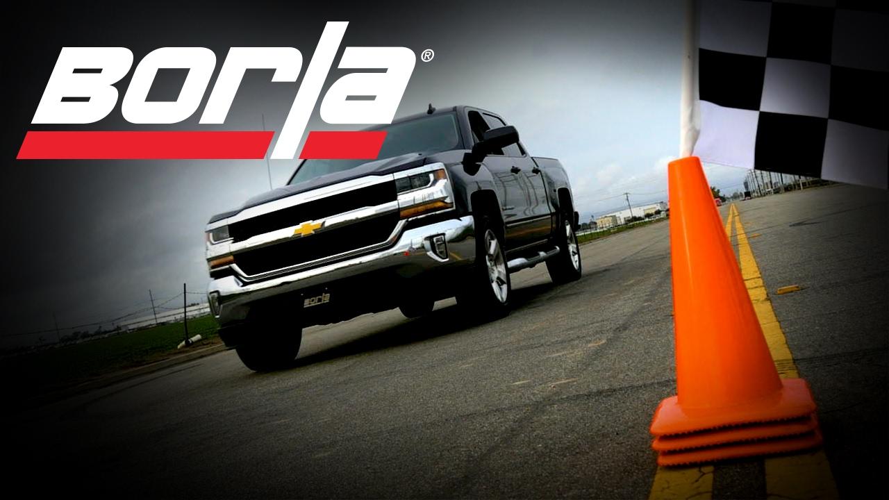 Borla Exhaust for the 2014-2018/2019 LD Chevrolet ...