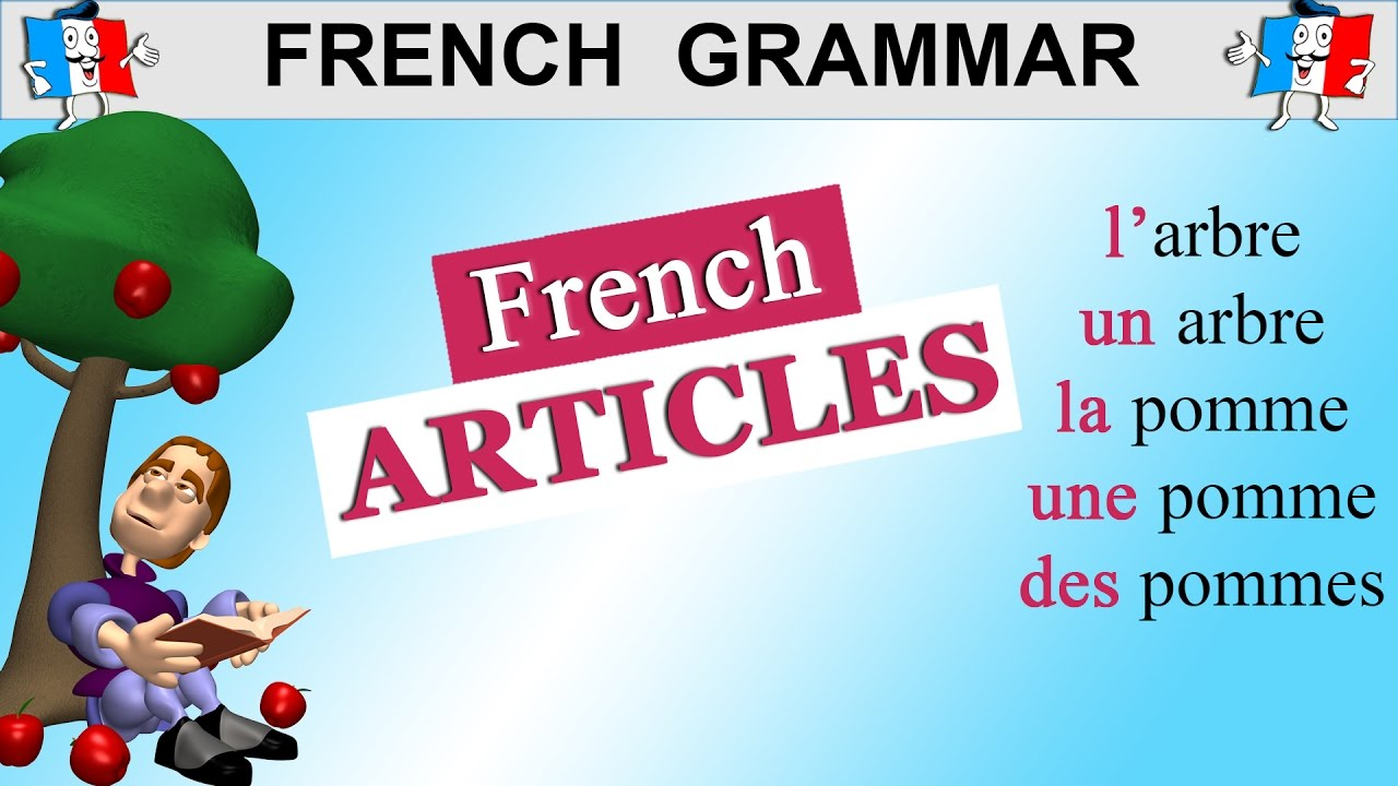indefinite article in french