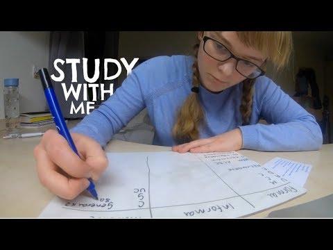 Study With Me || Pre-Exam Uni Revision