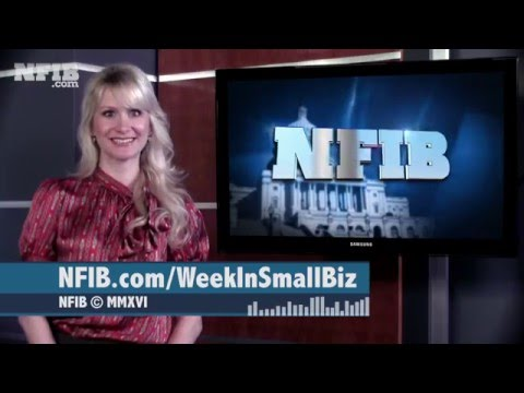 Rein in Regulations + Election 2016   NFIB's Week In Small Business