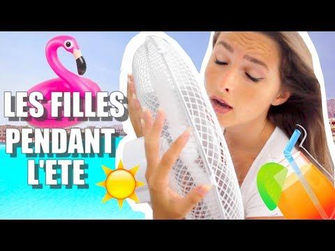 LES FILLES PENDANT L'ÉTÉ