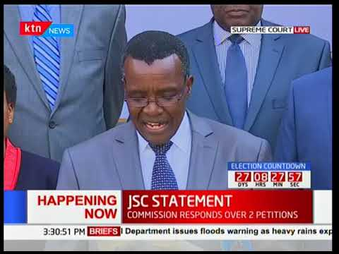 Maraga: This is intimidation and will never be allowed to happen