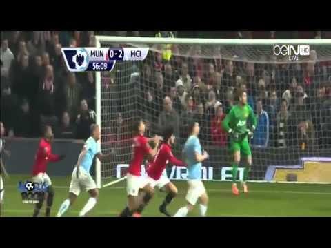 Manchester United vs Manchester City 0 3 All Goals and Highlights