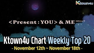 [Ktown4u Chart] Kpop Weekly TOP 20 (November 12th~18th, 2018) #029