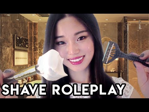 [ASMR] Relaxing Shave Roleplay