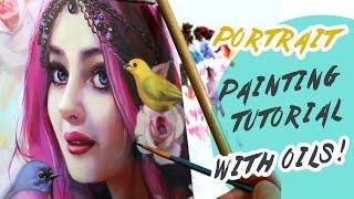 Portrait Painting Tutorial | SPEEDPAINTING