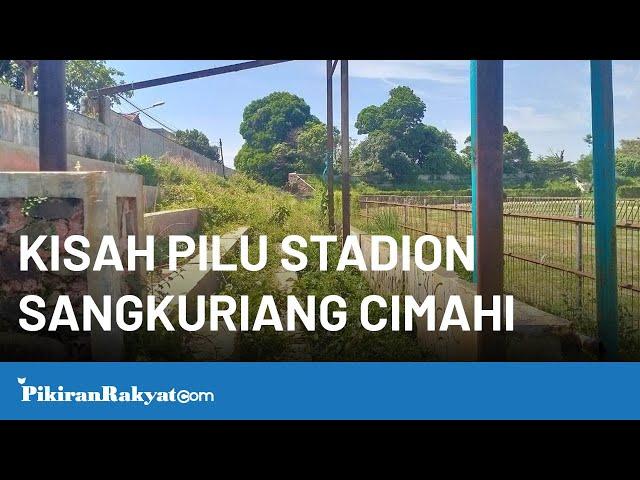 Stadion Sangkuriang Cimahi Dirawat Memakai Uang Swadaya Masyarakat Langsung