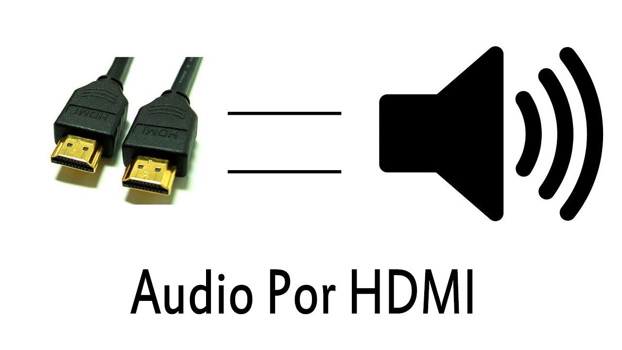 Como Sacar El Audio Por Medio Del Hdmi Tutorial Youtube