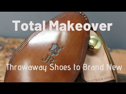 John Lobb Shoe Restoration | Total Transformation From Throwaway to Brand New