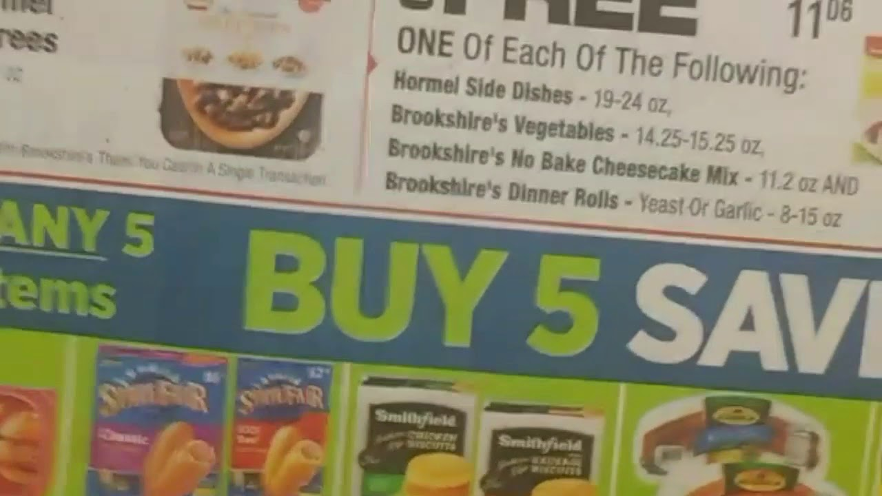does brookshires double coupons