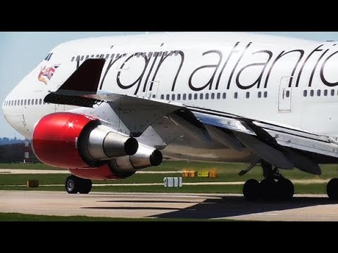 Spring Afternoon Departures at Manchester Airport   RWY23L   19/04/2018